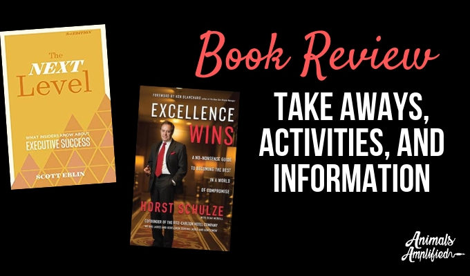 Next Level and Excellence Wins: April Book Reviews