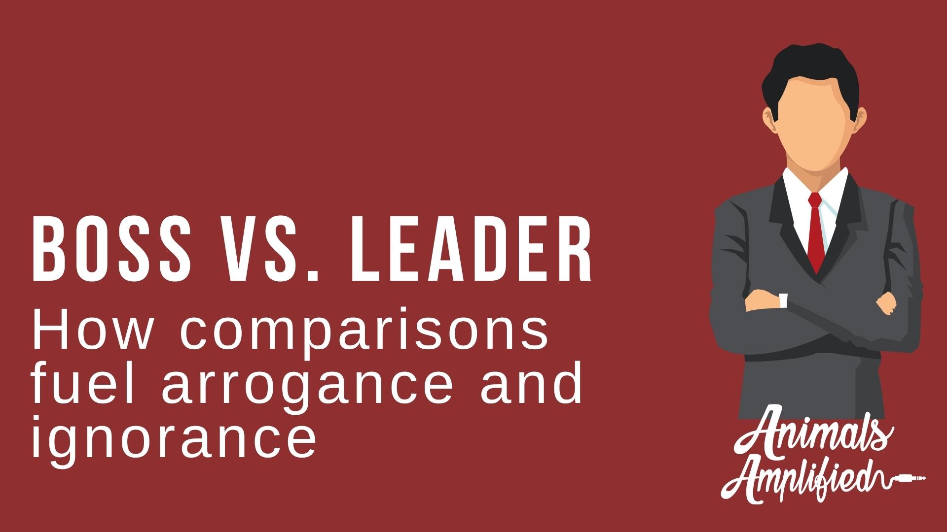 comparisons aren't helpful